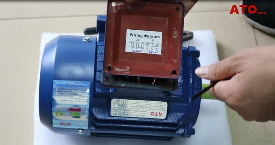 Wire a 1hp Induction Motor