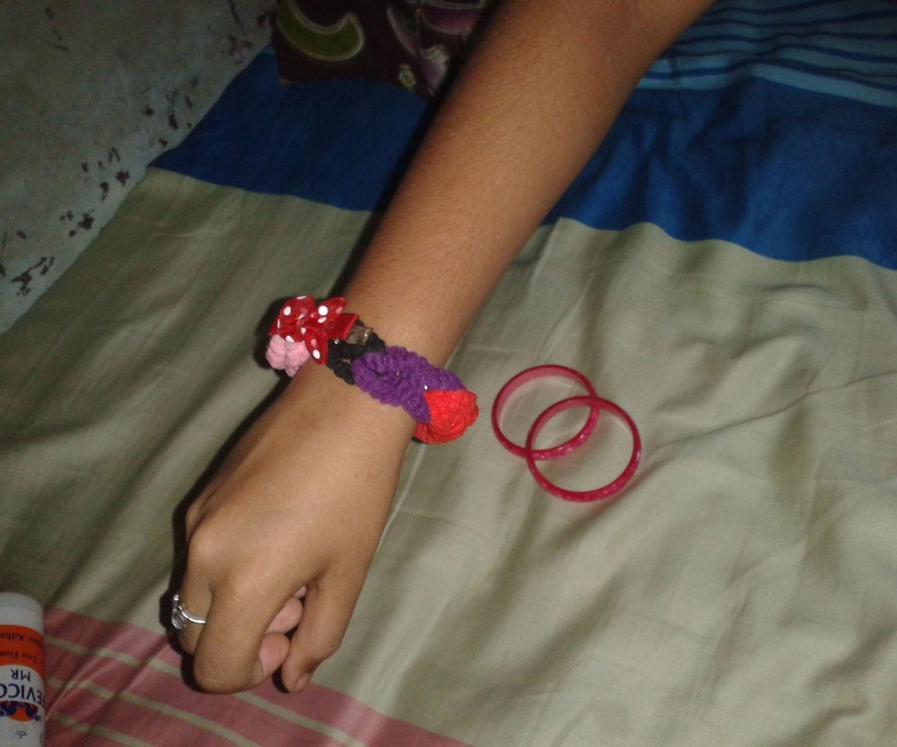 hairband bracelet