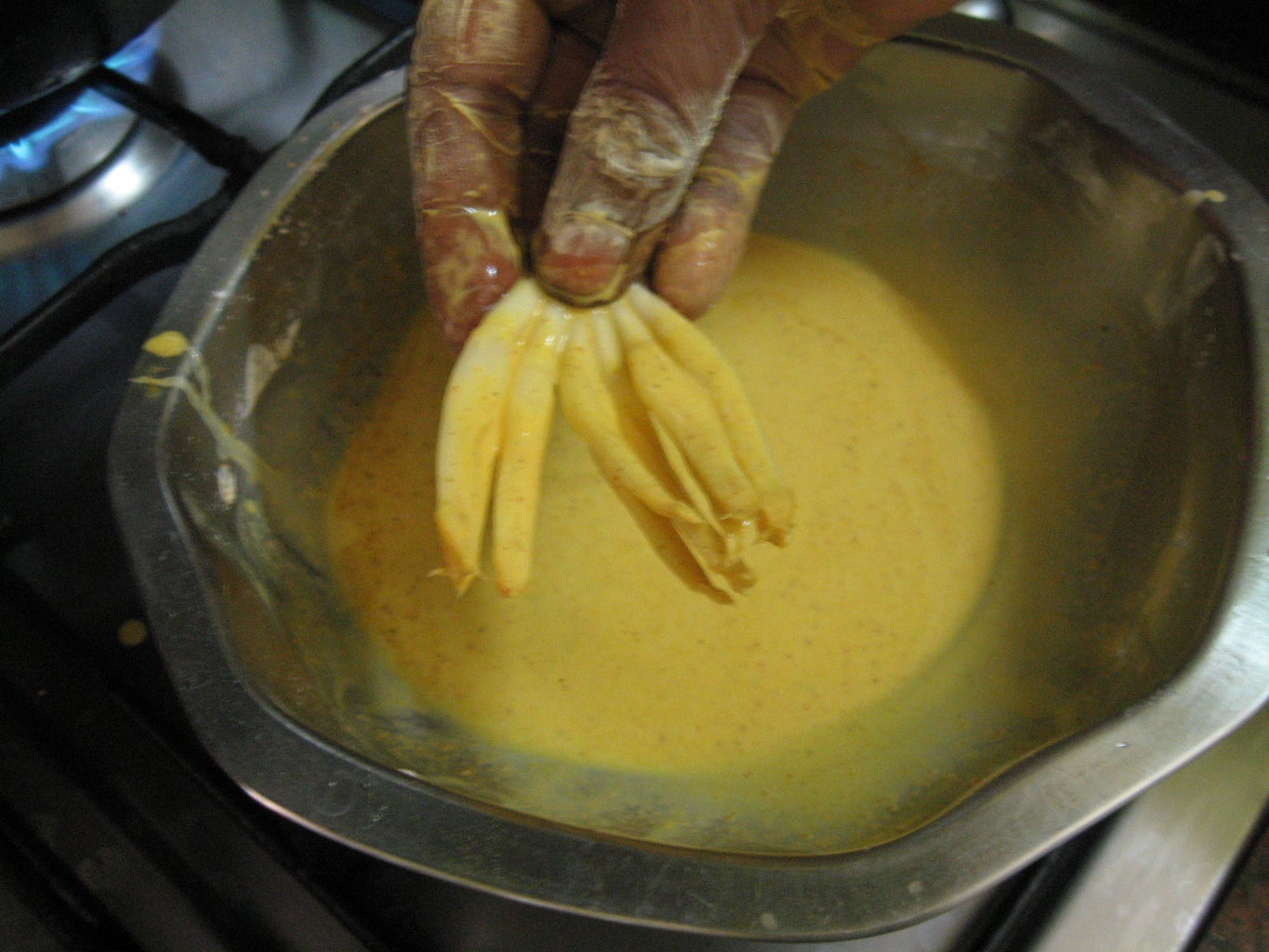 Dip in Batter and Deep-fry