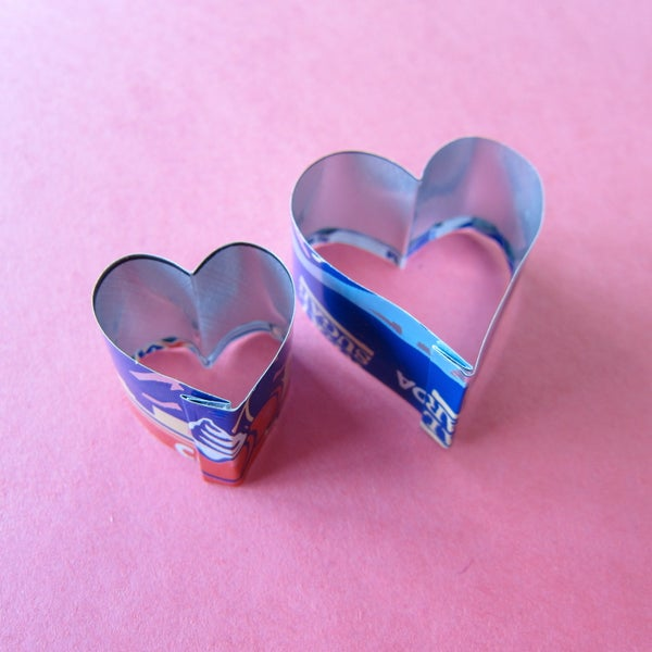 10 Minute Cookie Cutter From Soda Can