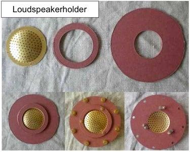 Blind Flange With Integrated Speaker