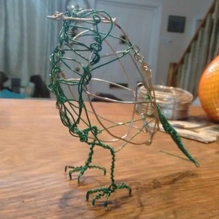 Making Wire Birds