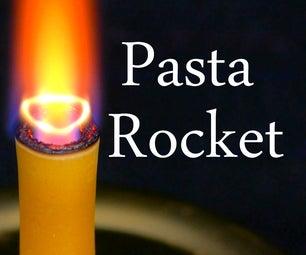 用面食,过氧化氢和酵母制作混合火箭发动机