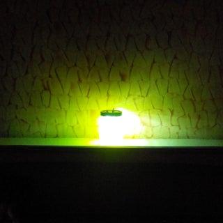 Glowing Alien in a Jar