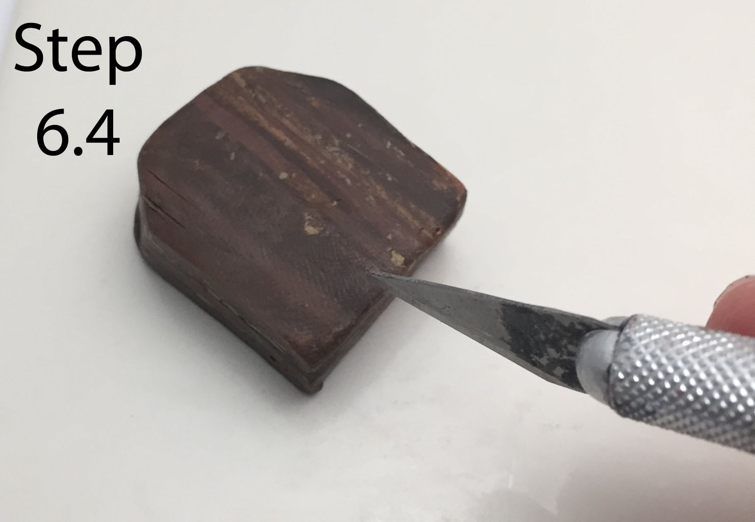 """Molding the """"Wood"""" Ring"""
