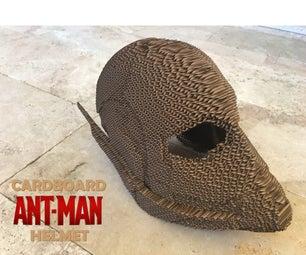 Cardboard Ant-Man Helmet