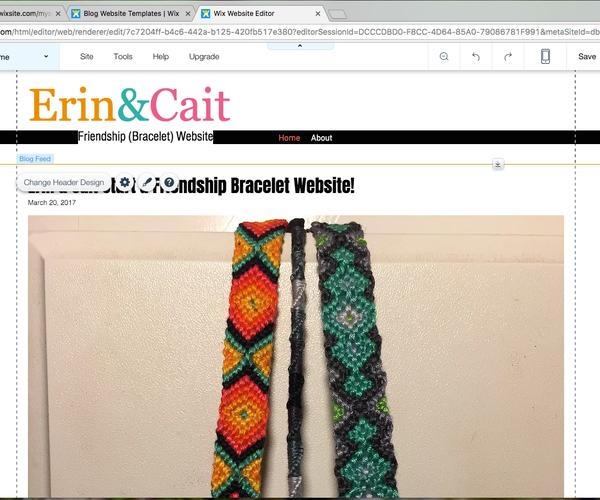 Friendship (Bracelet) Websites