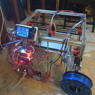 Hypercube 3D Printer (using RatRig Frame Kit)