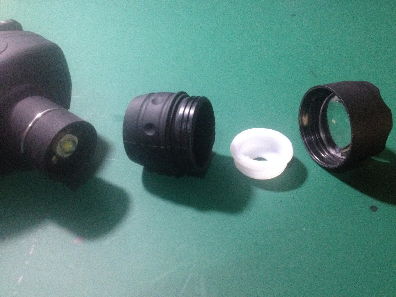 Disassembling the Head Torch