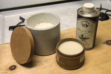 Making Oil/Wax Paste Finish