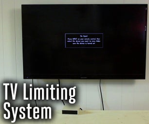 System for Automatically Limiting TV Time