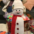 Muñecos de nieve calcetín
