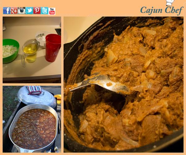 Roux Recipe:  Cajun