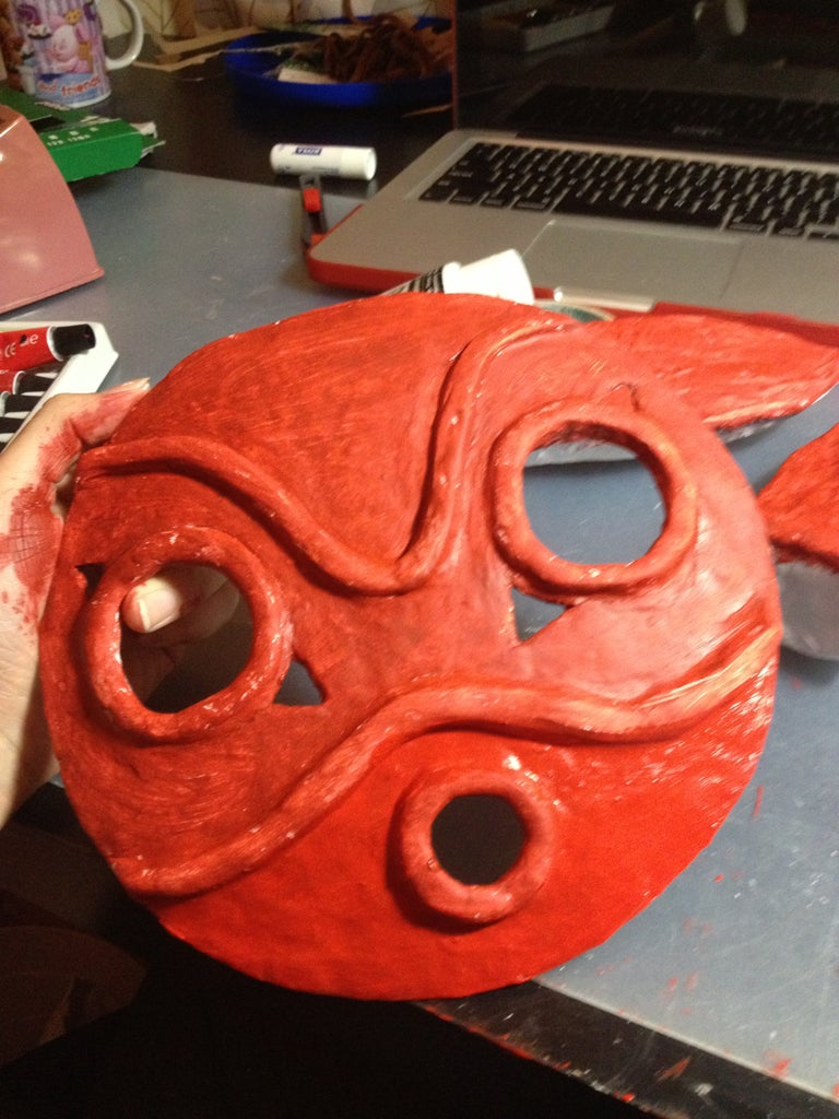 Ears and Mask - Painting