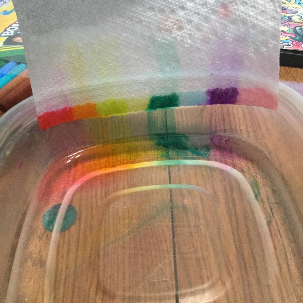 Rainbow Paper Towel