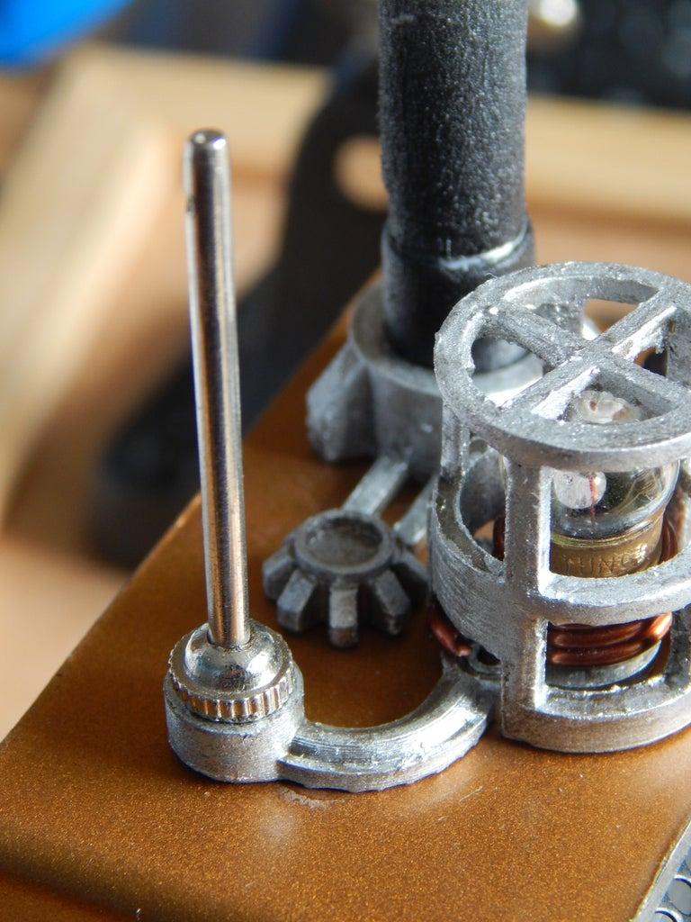 Inserting Decorative Antenna