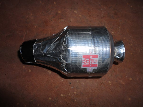 Tin Can Harmon Mute for a Trumpet