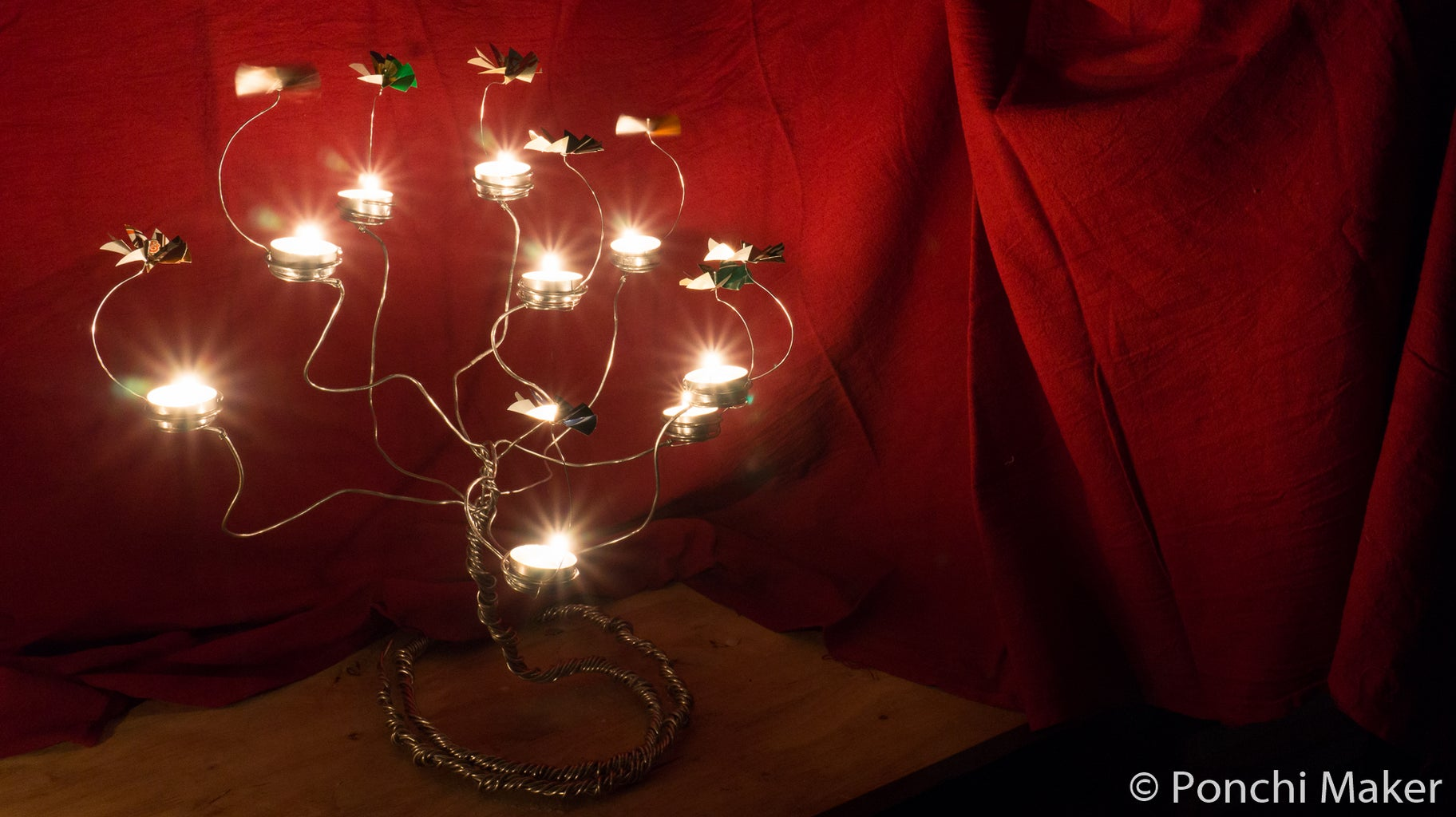 Enjoy Your Candle Carousel Tree