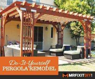 Refurbishing an Old Pergola