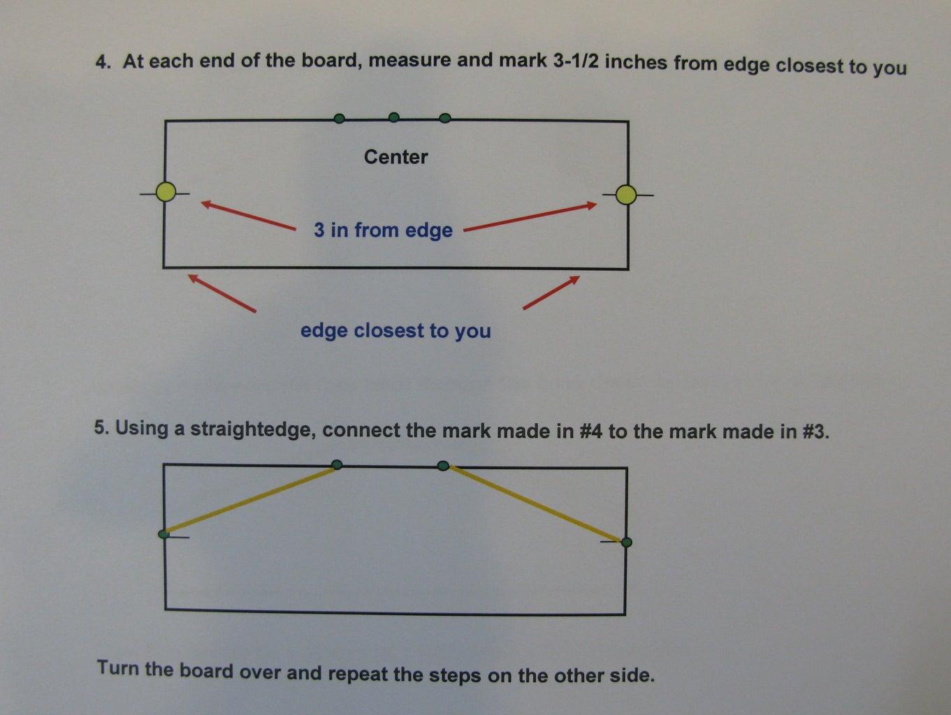 STEP SEVEN:  Shape the Maple Boards - E Boards