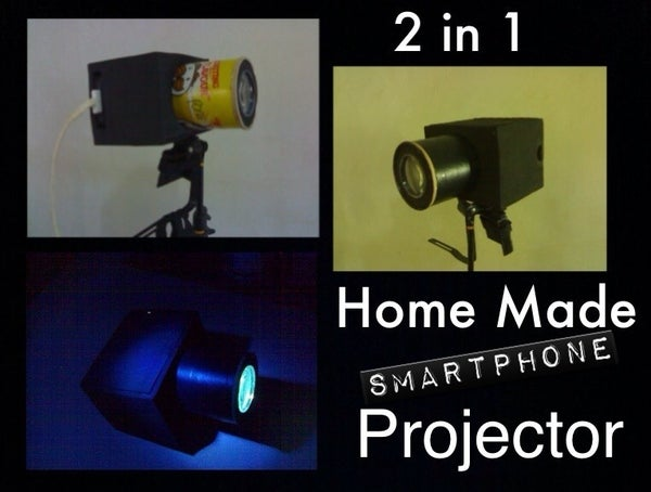 Home Made Smartphone Projector