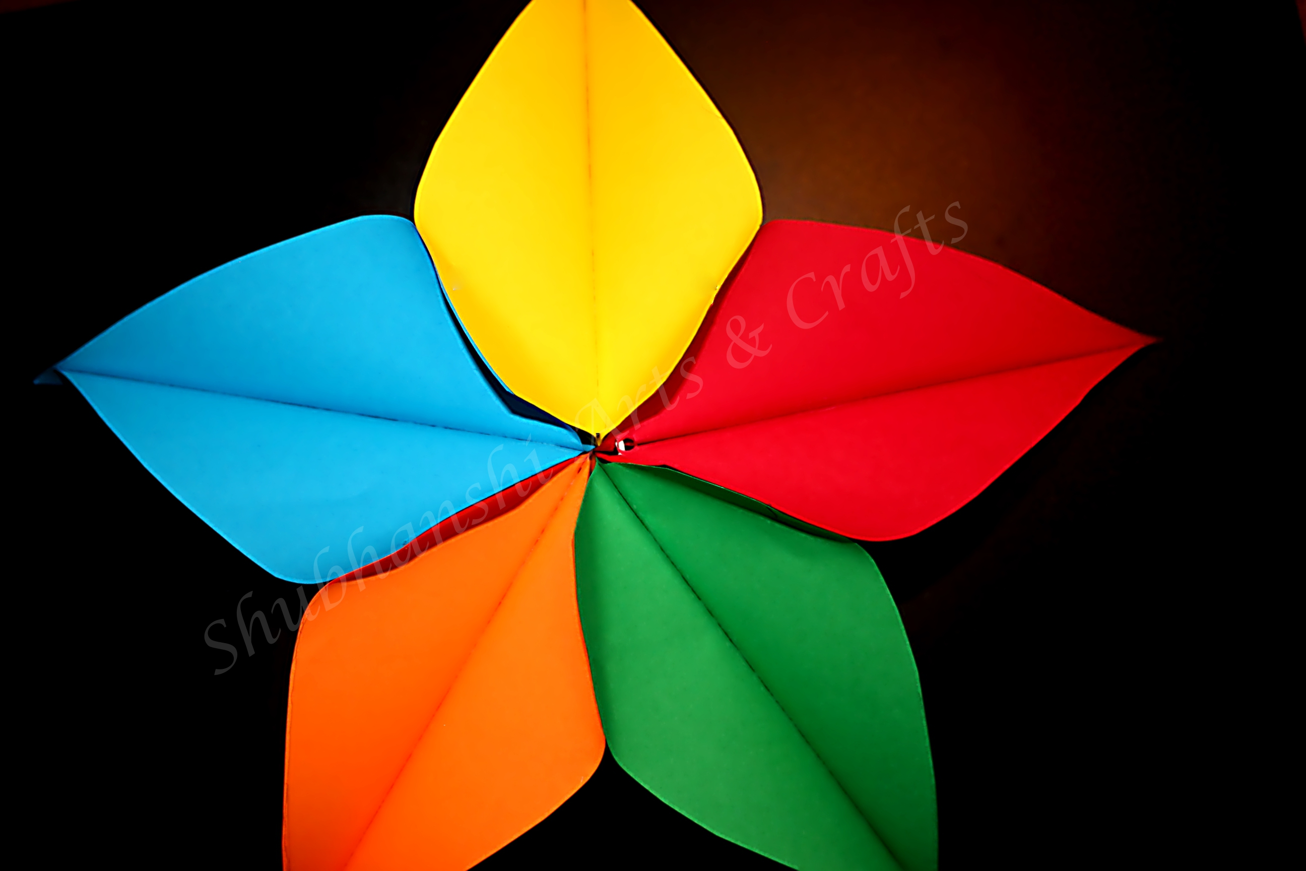 DIY : Paper Star | Rainbow Star
