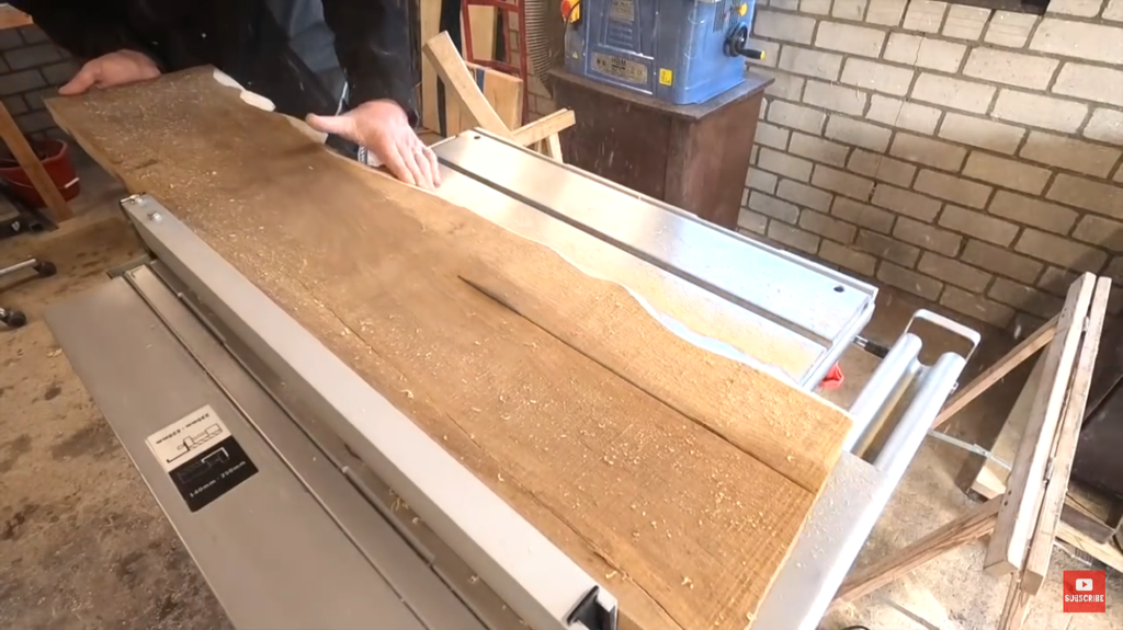 Create the Second Half of the River (table Saw)