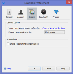 Upload Files From External Devices