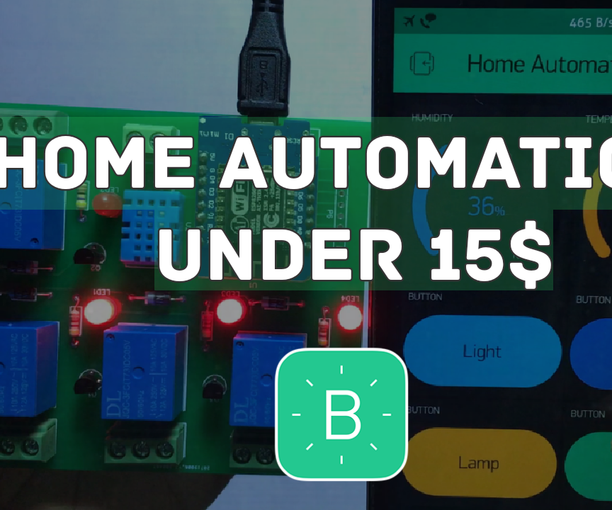 Home Automation Within 15$