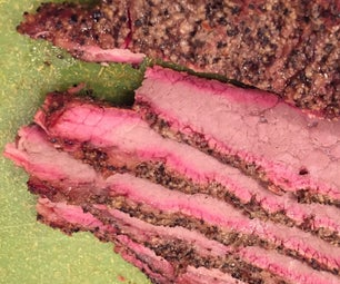 BBQ Brisket and Smoke Ring Science