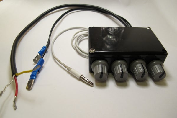 Tone Volume Ballance Control Circuit. Overview.