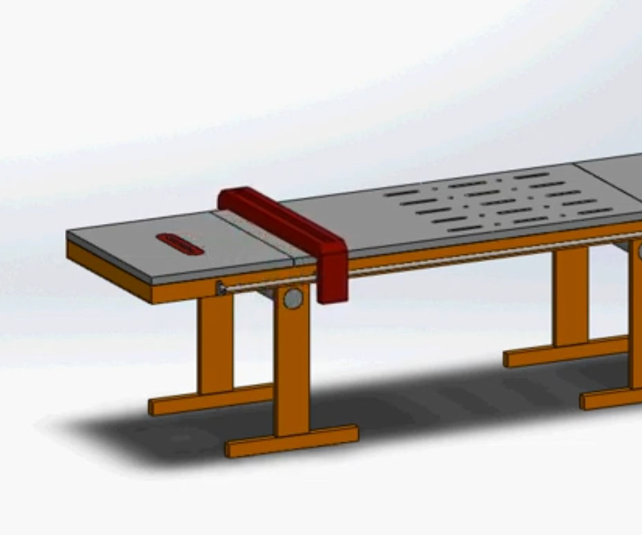 Table Saw Fence Control