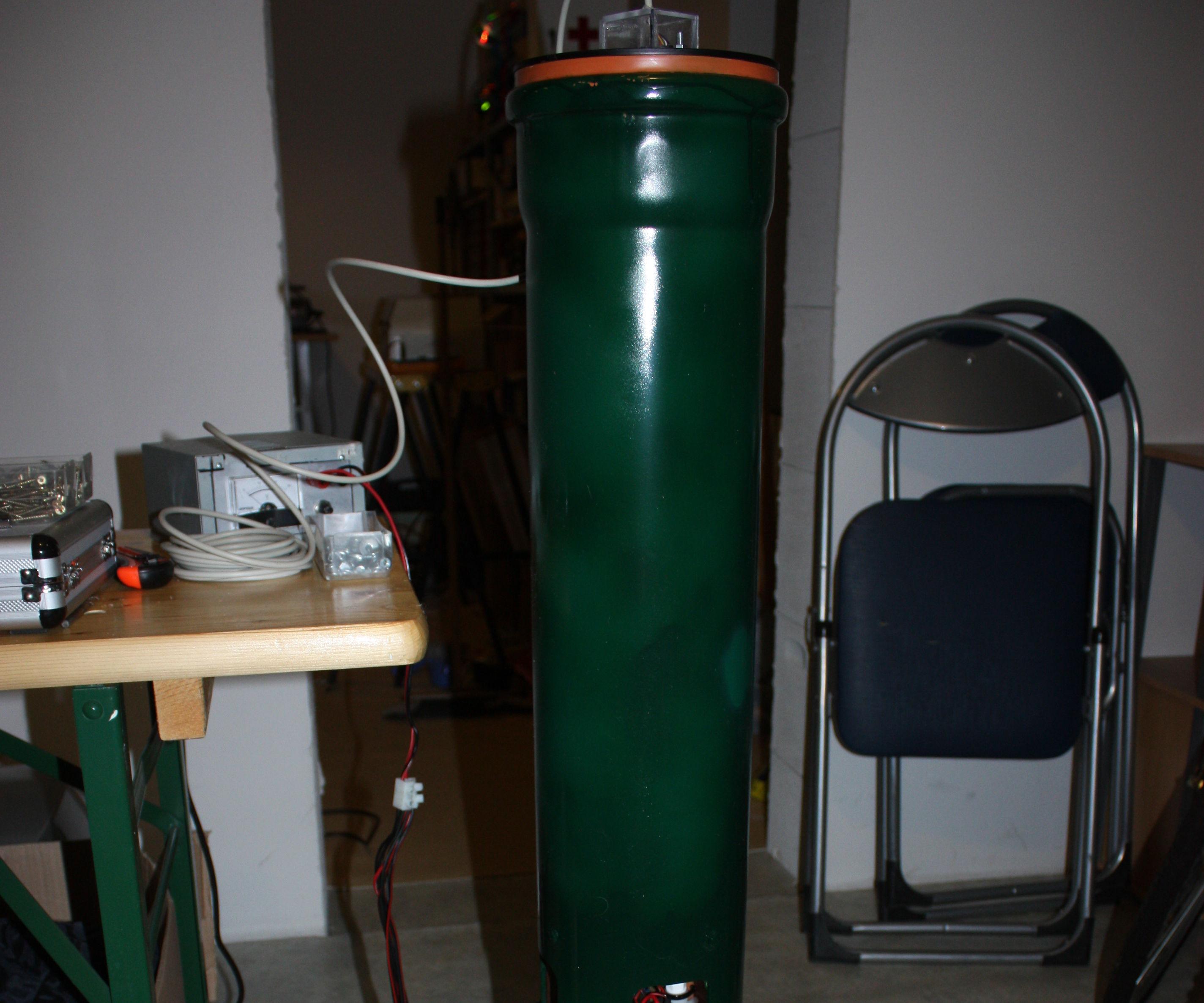 Measuring water level with ultrasonic sensor