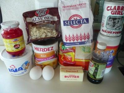 Ingredients, Tools and Prep Work