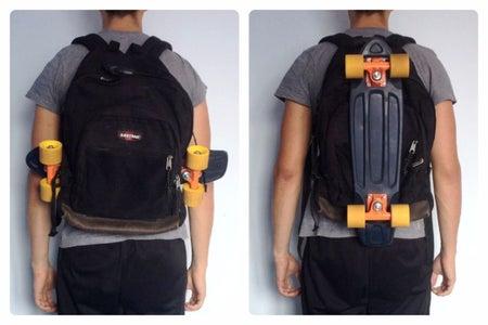 Finish! Enjoy Your DIY Pennyboard Backpack
