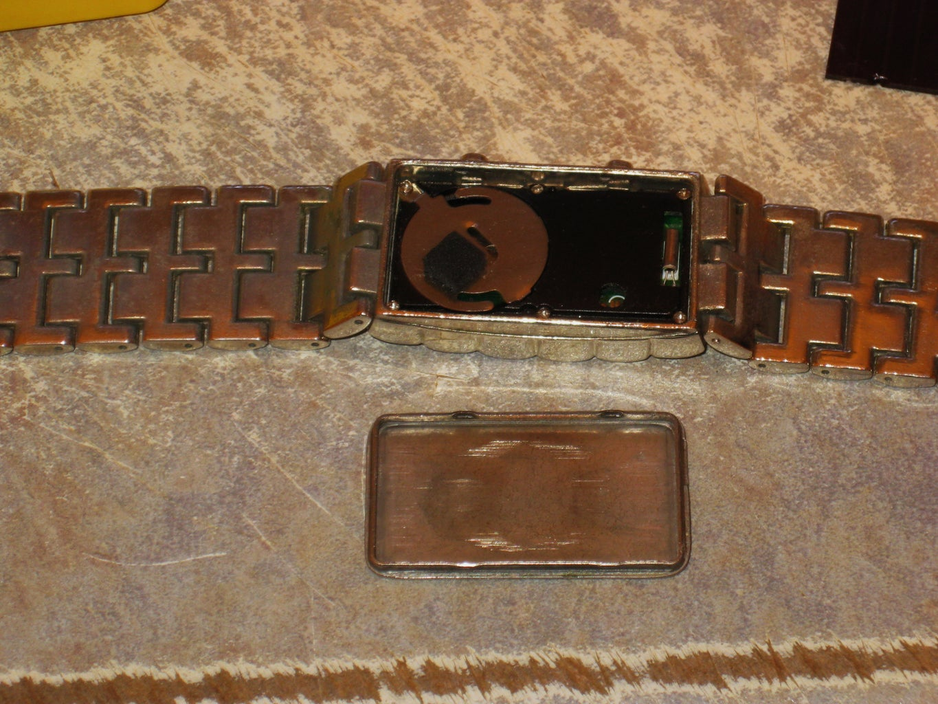 Getting the Watch and Flash Light Apart