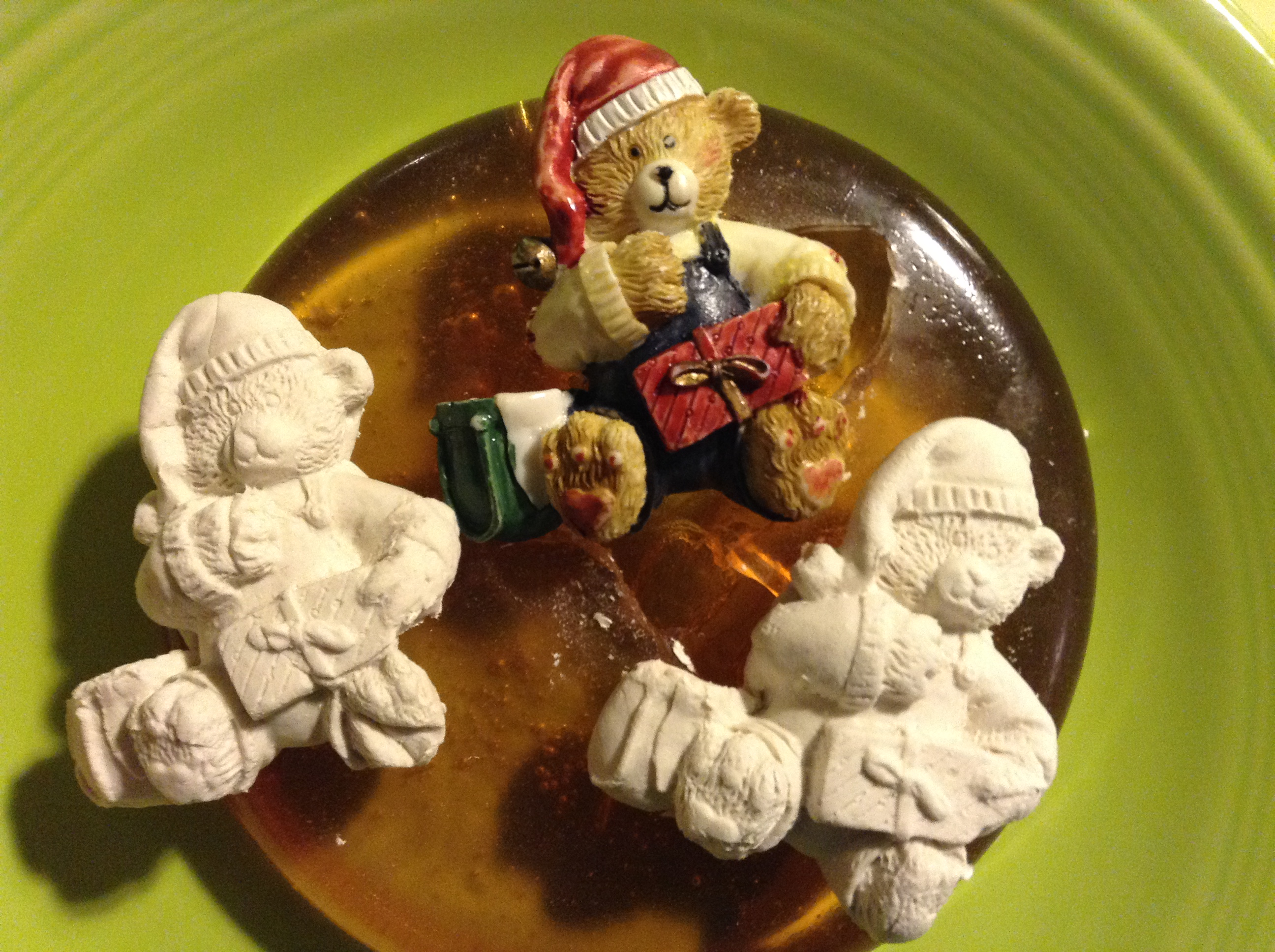Bear Ornament Push Mold