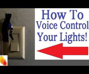 How to Voice Control Your Lights! the Easy Way!