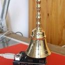 USB bronze bell striking clock (with Arduino)