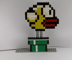LEGO Flappy Bird Mosiac