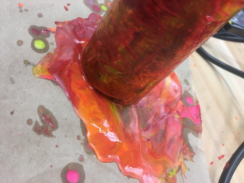 Adding the Crayon Decoration