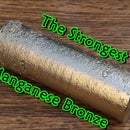 Making the Strongest Manganese Bronze. Casting Manganese Bronze Ingots