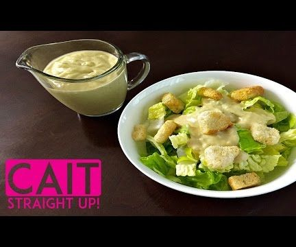 Homemade Caesar Salad Dressing From Scratch