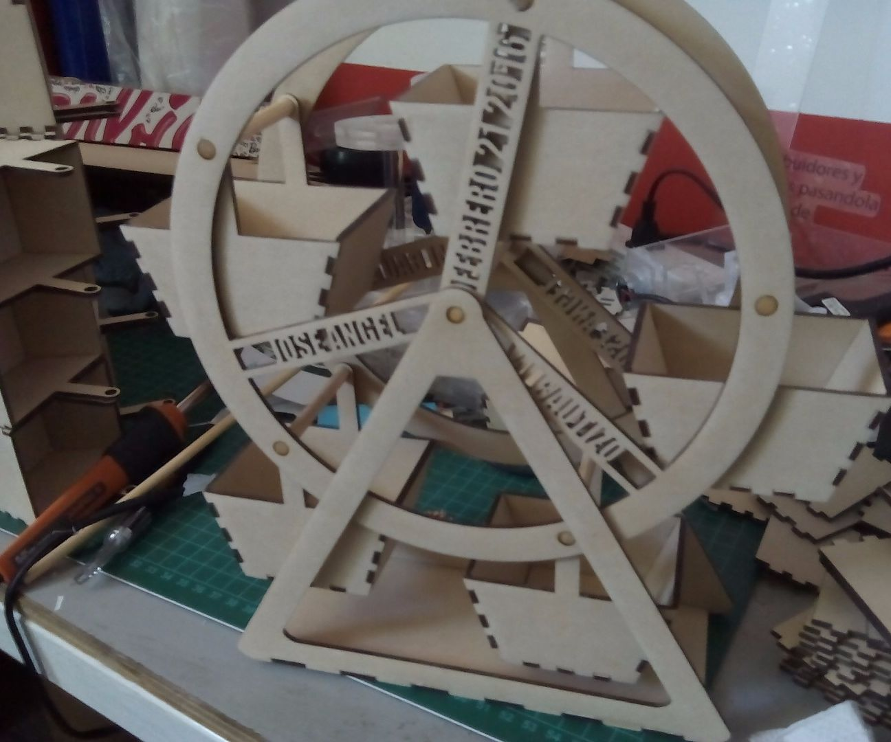 MDF Ferris Wheel for event