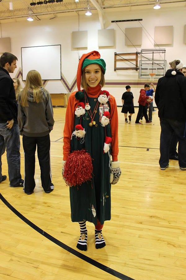 Ugliest Holiday Outfit