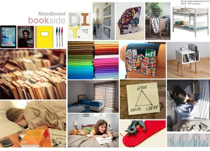 "DIY-BOOKSIDE ""bedside Bookshelf"""