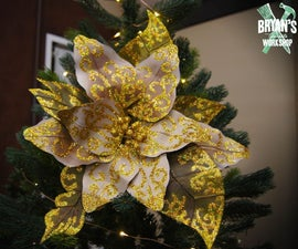 How to Make a Paper Christmas Flower!