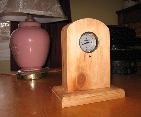 Junkyard Clock