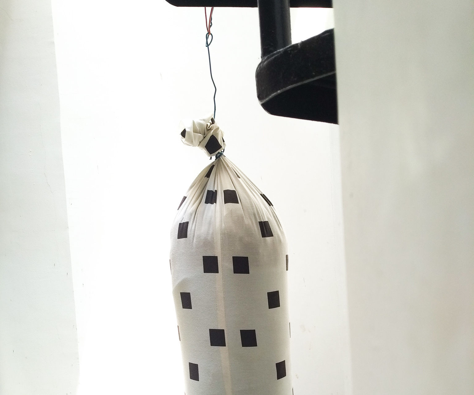 Punching Bag From Unused Item