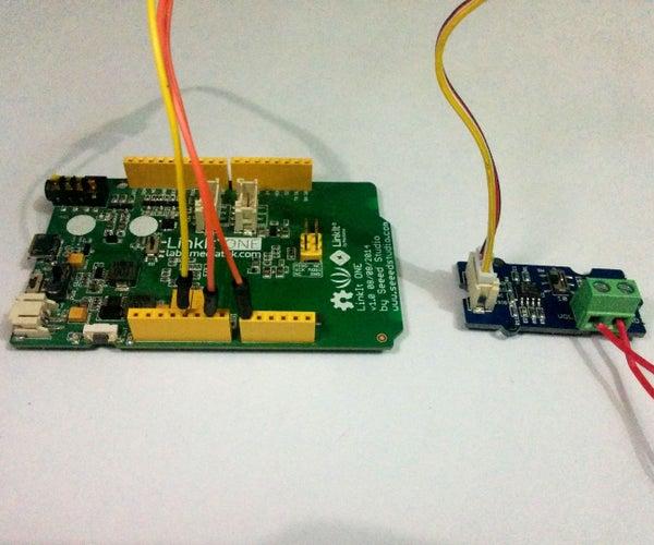 LinkIt One Voltage Montior